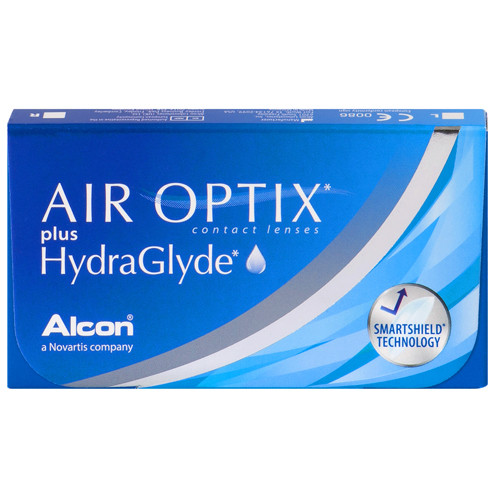 Air Optix Plus Hydraglyde (3 lentilles)