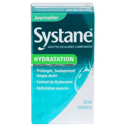 Systane Hydration 10 ml - Gouttes Lubrifiantes et Hydratantes
